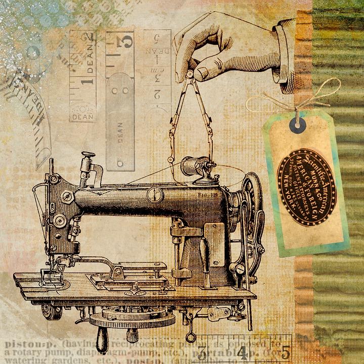 Storia macchine da cucire